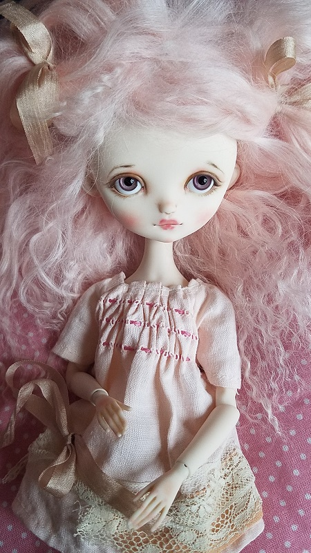Lucy Full set ooak doll